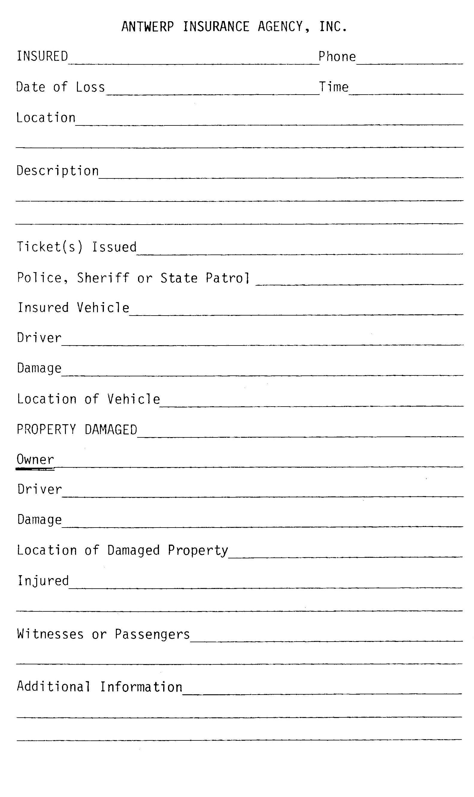 Auto Insurance Quote Form 44billionlater